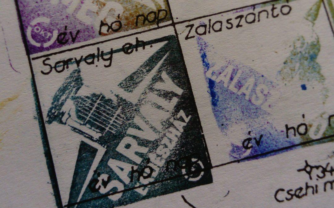 Pecsétgyűjtés – Kéktúra Sümeg-Keszthely I