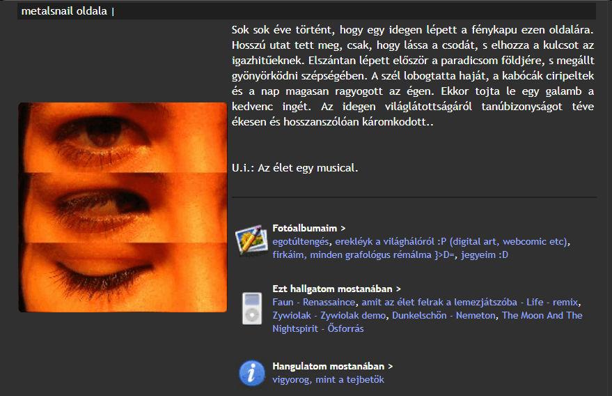 blog rólam zajlik.hu profil