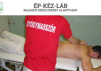 ÉP-KÉZ-LÁB Baleseti Sérültekért Alapítvány interjú