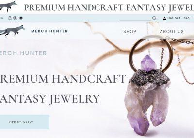 Merch Hunter Premium Handcraft Fantasy Jewelry