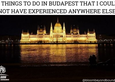 Article: 6 Things To Do in Budapest That I Could Not Have Experienced Anywhere Else!